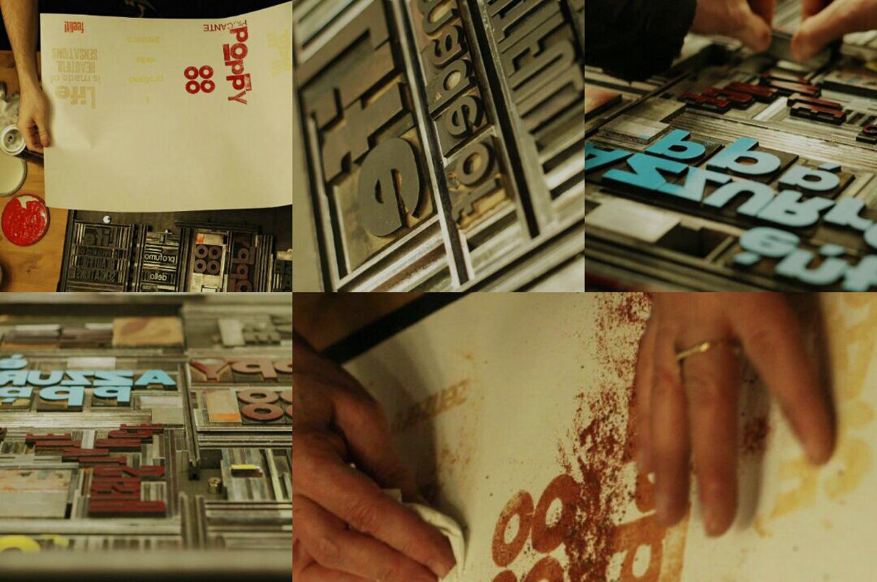 Q.B – workshop di Stampa Tipografica Sinestetica